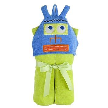 Amazon Com Elegant Baby Hoodorables Towel Wrap Lars The Robot