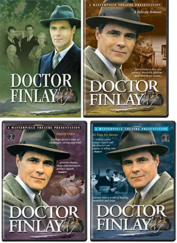 Winning Dvd - Doctor Finlay 4 Collection Set (No Time For Tears, Days of Grace, A Delicate Balance & Winning the Peace) DVD Bundle