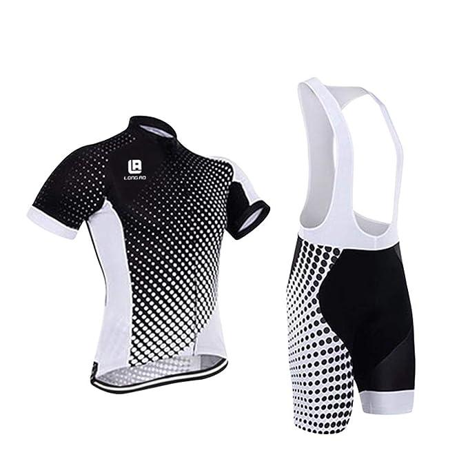 Amazon.com: NOMSOCR - Conjunto de ropa de ciclismo para ...