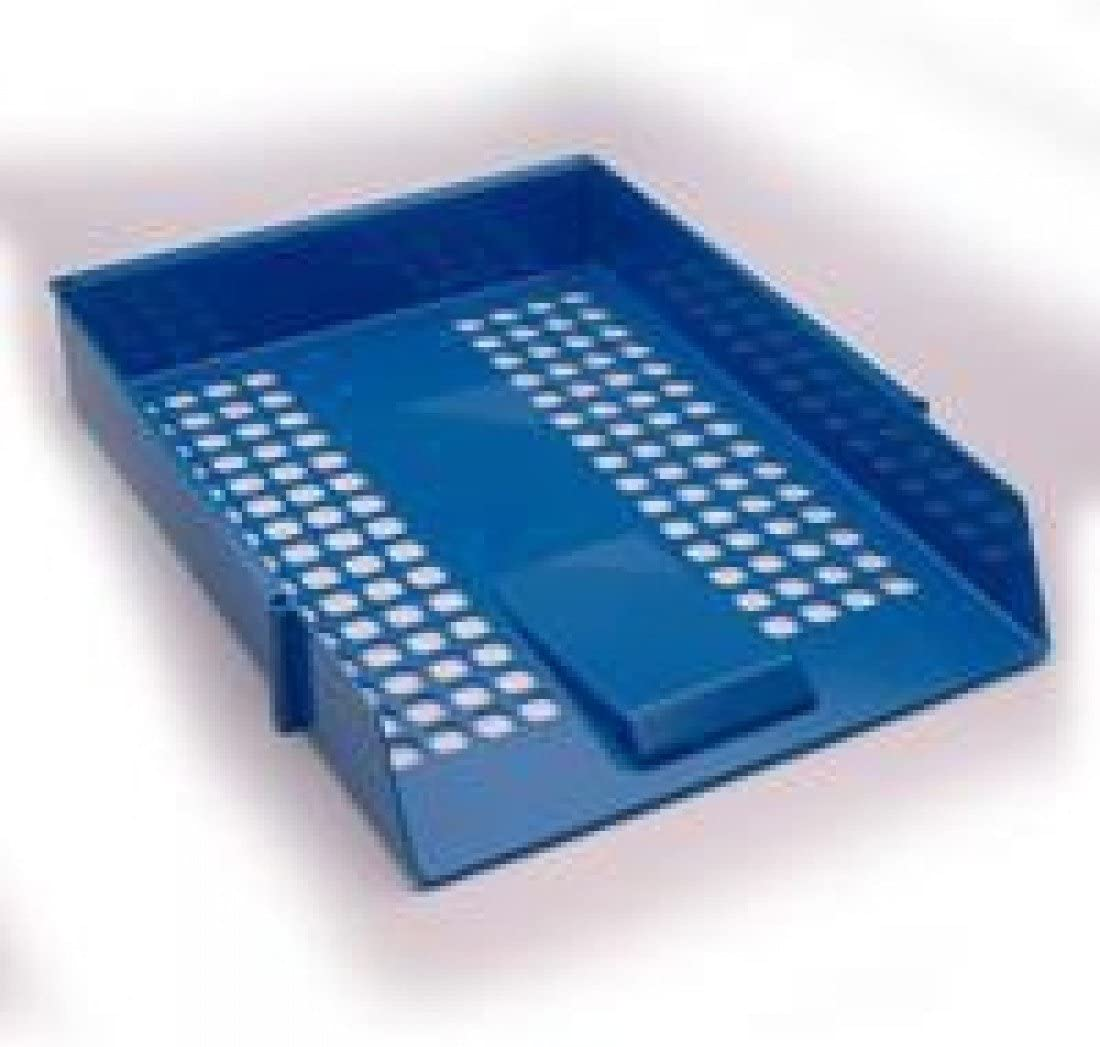 WB LETTER TRAY BLUE