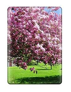 Sregz5731BcbFk NikRun Spring Trees Durable Ipad Air Tpu Flexible Soft Case