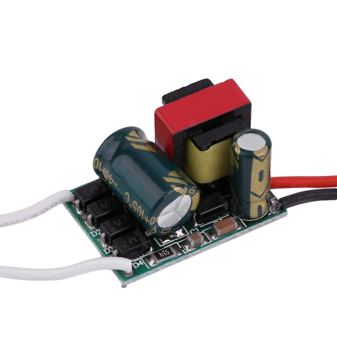 Funnyrunstore Trasformatore di driver di alimentazione ad alta alimentazione non impermeabile professionale Driver di alta tensione 85-265V180-300mA +/- 5% (Tipo: 18-25W)