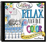 img - for Relax, Unwind & Color book / textbook / text book