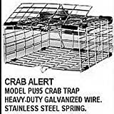 Tackle Factory Cuba Automatic Pop Up Crab Trap, Silver