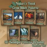 Nature's Finest Cross Stitch Patterns - Collection Two - 50 Beautiful Landscape/Scenery Cross Stitch Designs on CD