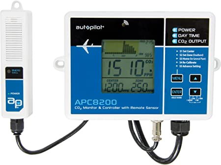 Amazon.com: Autopilot CO2 Monitor & Controller w/15 ...