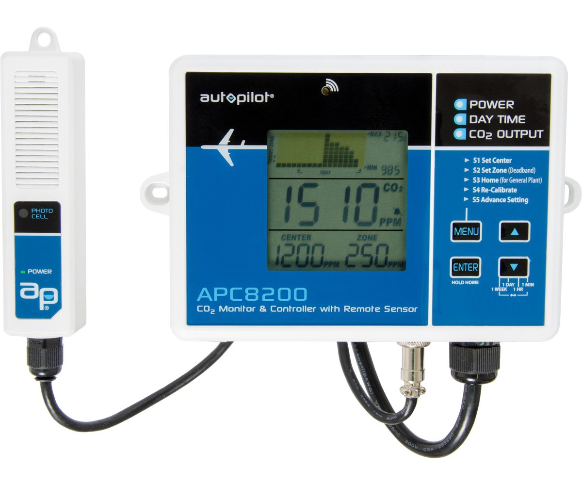 Autopilot APC8200 Monitor & Controller, Remote Sensor, Blue