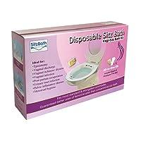 Vagi- Sitz Bath Kit, Disposable Sitz Bath Kit for Vaginal Discharge, Infection, Odor, or Dryness; Disposable