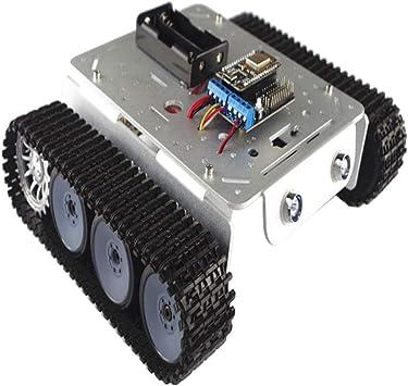 perfeclan Chasis de Coche Tanque Amortiguador Controlado por ...