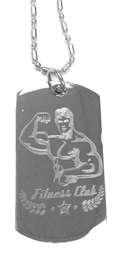 Amazon com : Muscle Guy Man Fitness Club Gym Workout - Luggage Metal