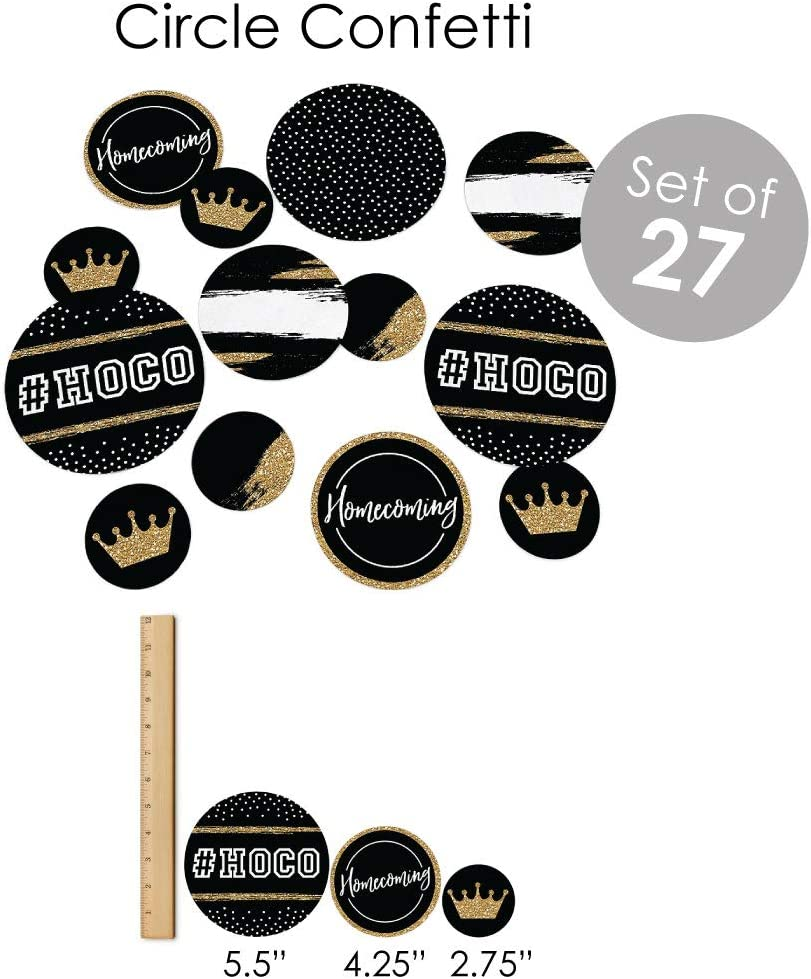 Fundle Bundle Homecoming Supplies Big Dot of Happiness Hoco Dance Banner Decoration Kit