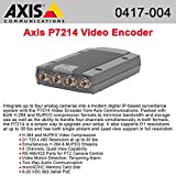 Axis Communications - Axis P7214 Video Encoder - Functions: Video Encoding, Video Streaming - 512 Mb - Pal, Ntsc ''Product Category: Video Cards/Video Processing/Capturing Modules''