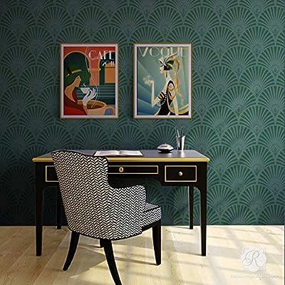 Royal Design Studio Great Gatsby Glam Art Deco Wall Stencil