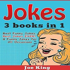 Jokes: 3 Books in 1 Audiobook
