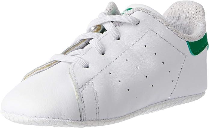 adidas Stan Smith Sneakers Jungen Mädchen Unisex Baby weiß/grün Größe 16 bis 21