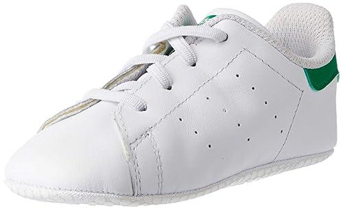 adidas Unisex Baby Stan Smith Crib Krabbel & Hausschuhe