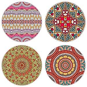 Coastero absorbent stone drink coasters bohemia set of 4 coasters - Stone absorbent coasters ...