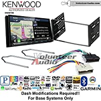 Volunteer Audio Kenwood DNX874S Double Din Radio Install Kit with GPS Navigation Apple CarPlay Android Auto Fits 1995-1997 Explorer, 1997 E-150, 2004-2006 Expedition