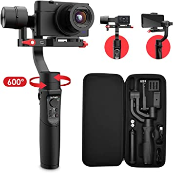 All-in-1 3-Axis Handheld Gimbal Stabilizer for Digital Camera Hohem iSteady Multi Action Camera and Smartphone GoPro Hero Series iPhone and Android Smartphones Compatible with Sony RX100 Series