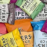 Pipers Crisps 40 gram Bags Mixed Flavours Box of 40