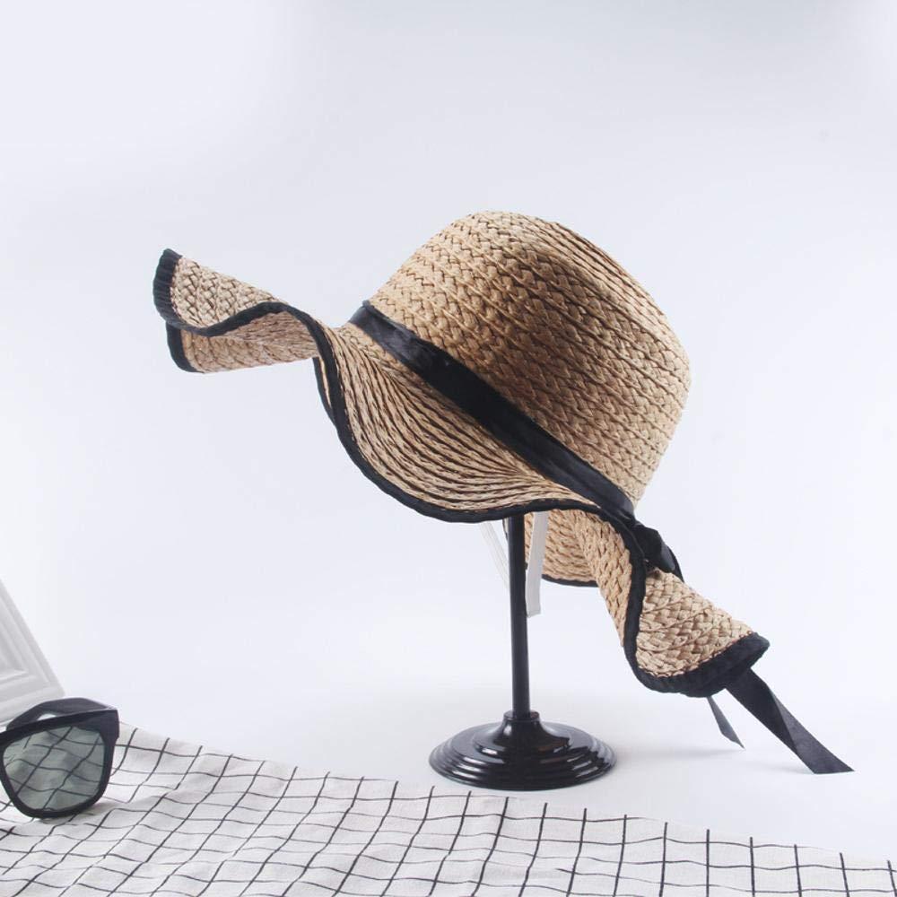 Fzwang Señoras Sombrero Plegable sombrilla Ganchillo Hecho a Mano ...