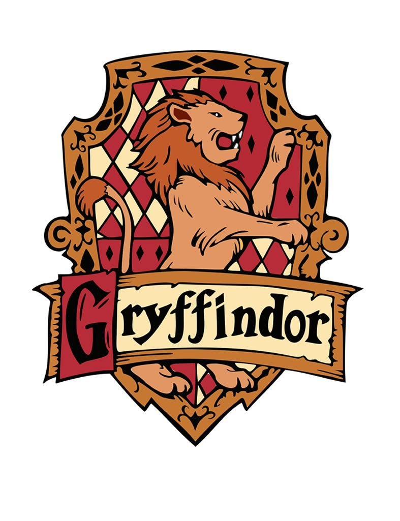 TENNER LONDON Gryffindor Iron On applique serigrafia tessuto lavabile in lavatrice trasferimento Hogwarts Griffindor Platform Clothing Ltd