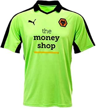 cc960618fb8 Wolverhampton Wanderers FC Men s Puma Away Football Shirt 2016-2017   Amazon.co.uk  Sports   Outdoors