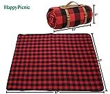 87 X 67 Inch Oversized Picnic Blanket, Waterproof