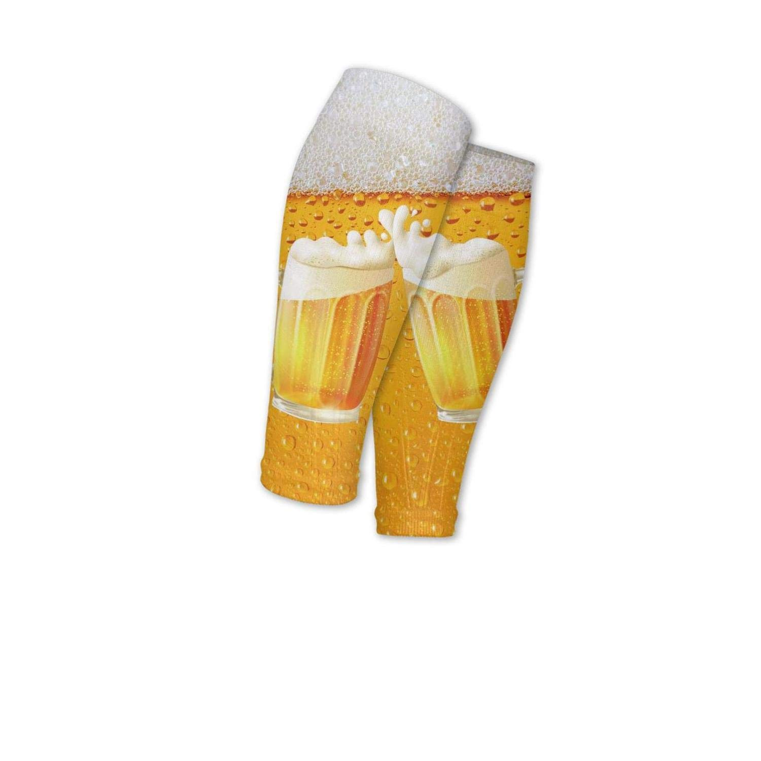 Smilelolly Beer Time Calf Compression Sleeves Helps Pain Relief Compression Sleeves For Calves