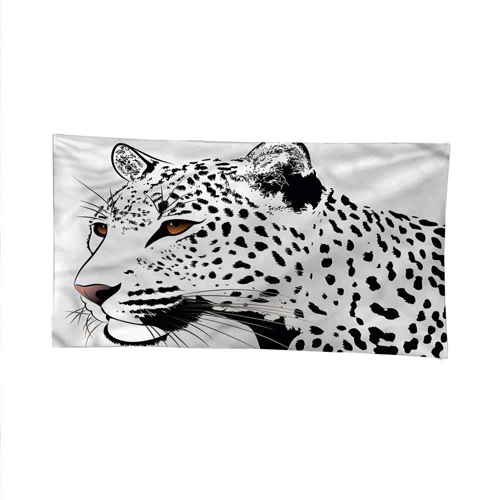 color19 84W x 54L Inch color19 84W x 54L Inch Tattoocool tapestrytapestry for wallLeopard Big Cat Spots 84W x 54L Inch