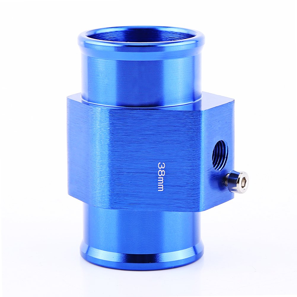 Qiilu QL01064 Adattatore universale per sensore di temperatura tubo flessibile per tubo acqua temp 40mm