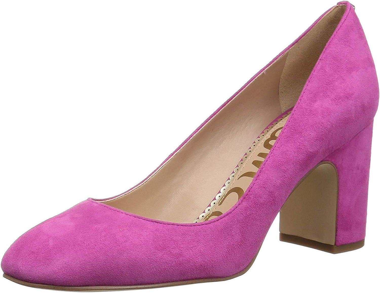 sam edelman pink velvet heels