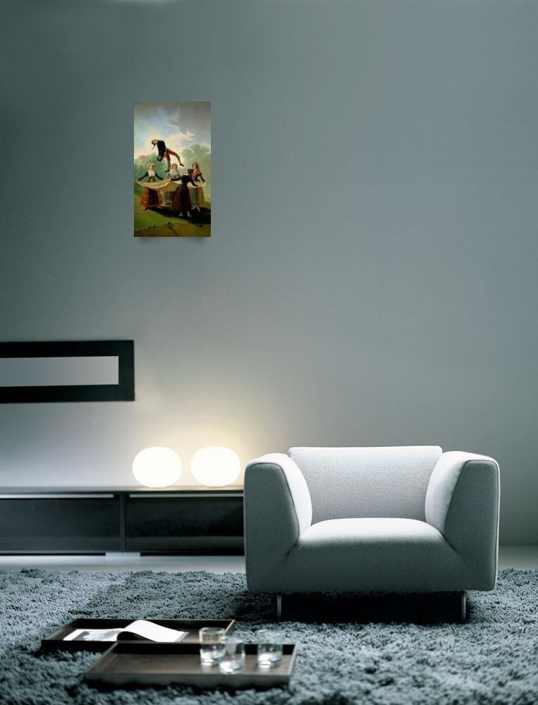 Amazon.com: Imagekind Wall Art Print entitled El Pelele by The Fine Art Masters | 6 x 10: Posters & Prints