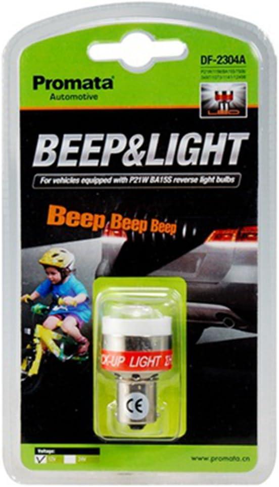 Ampoule dalarme invers/ée Promata 12V LED Lumi/ères de bips dalerte de secours de voiture pour P21W,1156,BA15S,7506,3497,1073,1141,12498