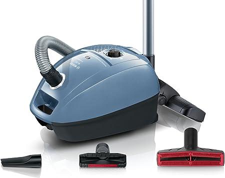 Bosch ProCarpet Care - Aspiradora (con Bolsa, bajo Consumo de energía, Boquilla Turbo, 800 W), Color Azul Plateado: Amazon.es: Hogar