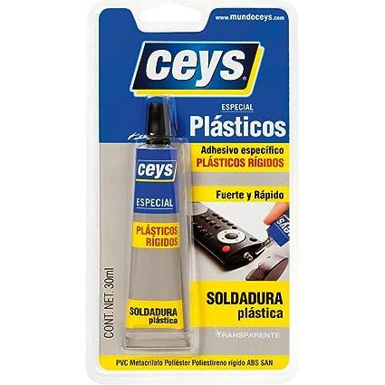 CEYS 501027 Adhesivo plasticceys Azul, 0