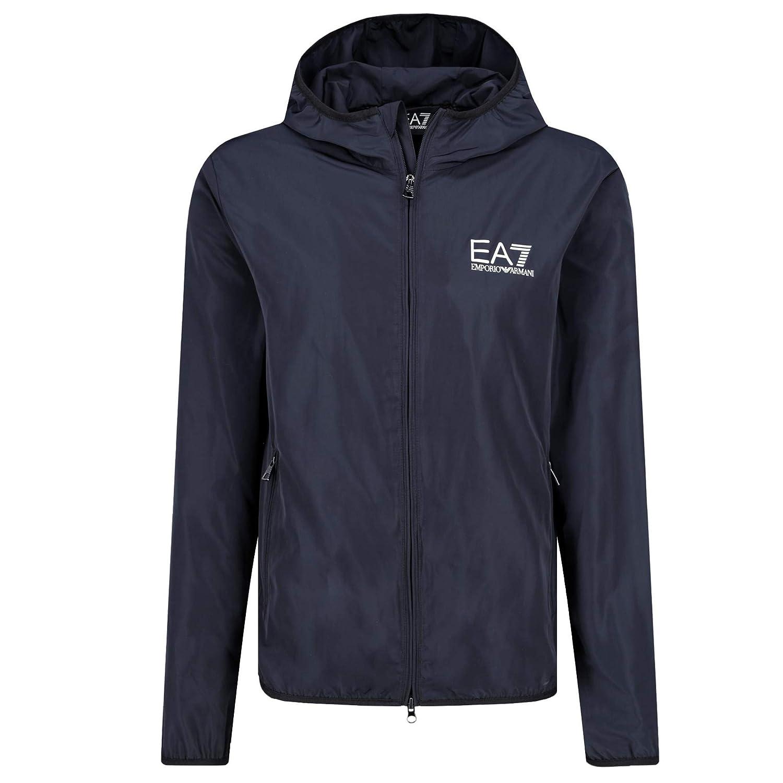 size 40 7ff50 af04a Emporio Armani EA7 Jacket (Medium, Night Blue): Amazon.co.uk ...