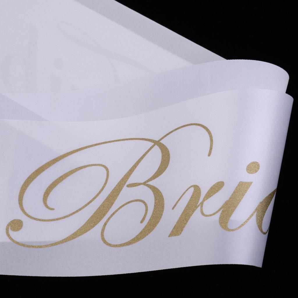 Sharplace 10 Pcs Bride Tribe Banda de Casamiento Accesorio de Fiestas Noche de Solter/ía para Ave Hembra