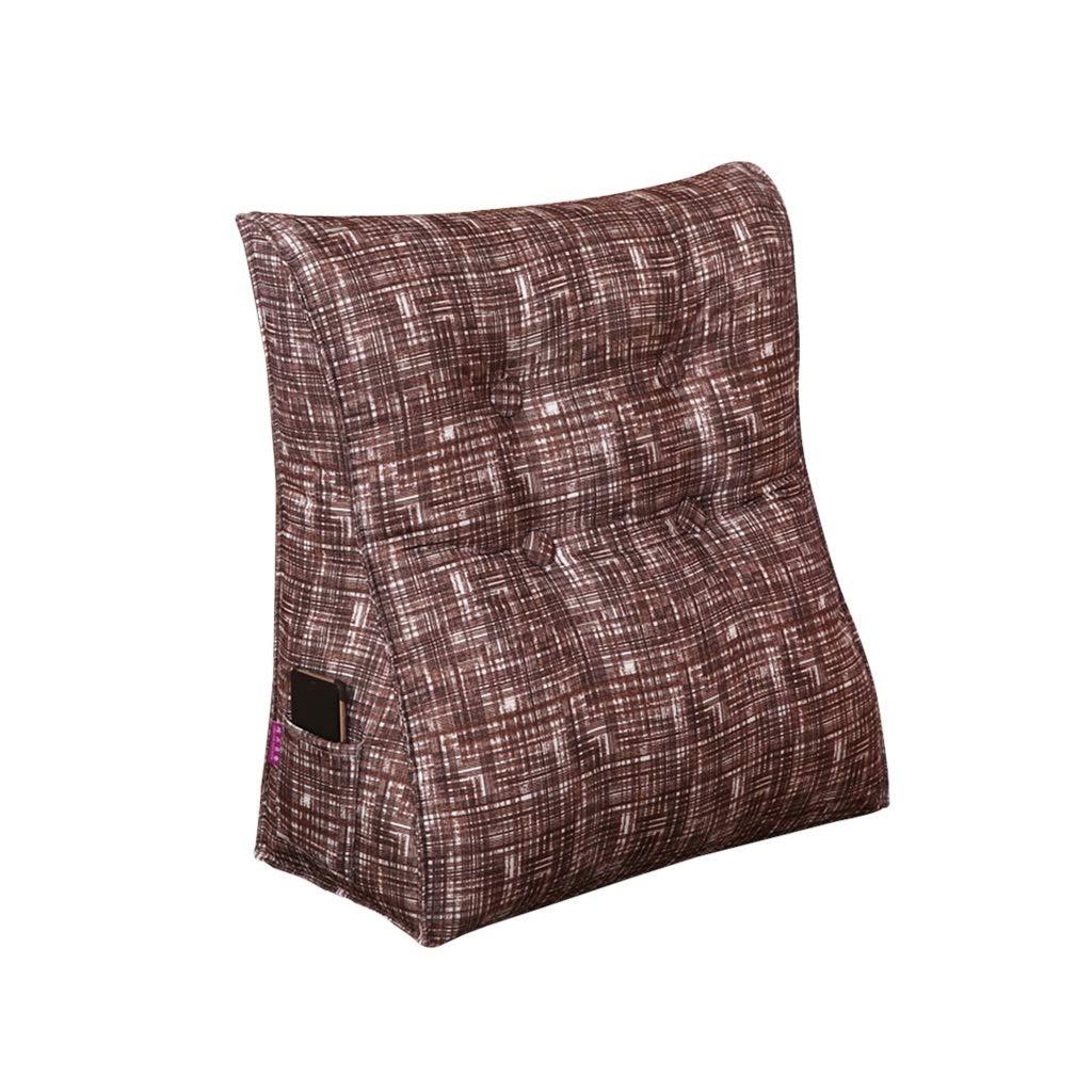 DUHUI Bed Wedge, Wedge für Wohnzimmer und Schlafzimmer, Sleeping Wedge, um die Wirbelsäule zu entlasten Pill Stillkissen fürs Liegen und Sitzen (Farbe : H, größe : 45x50x25cm)