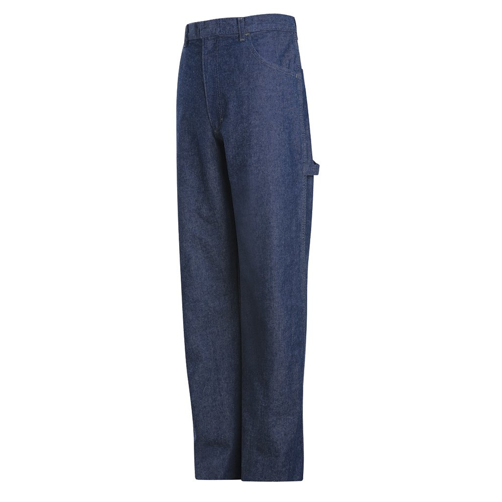 Blue Denim EXCEL FR 14.75 oz Mens Bulwark Pre-washed Denim Dungaree