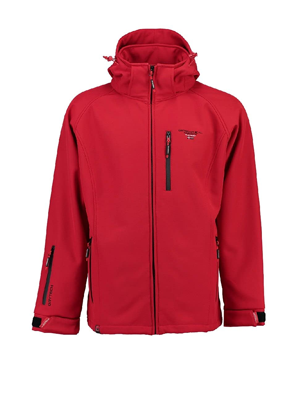 Geographical Norway Herren Parka Tornado, Rot M M Rot d3c3c1