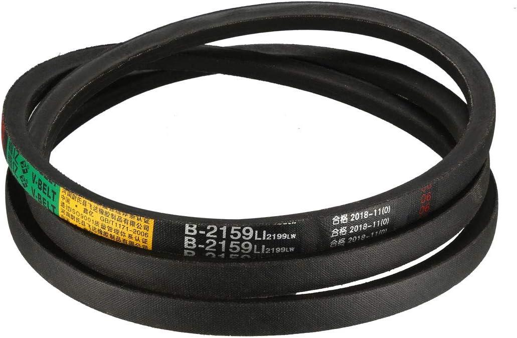 uxcell B-2159//B85 Drive V-Belt Inner Girth 85-inch Industrial Power Rubber Transmission Belt