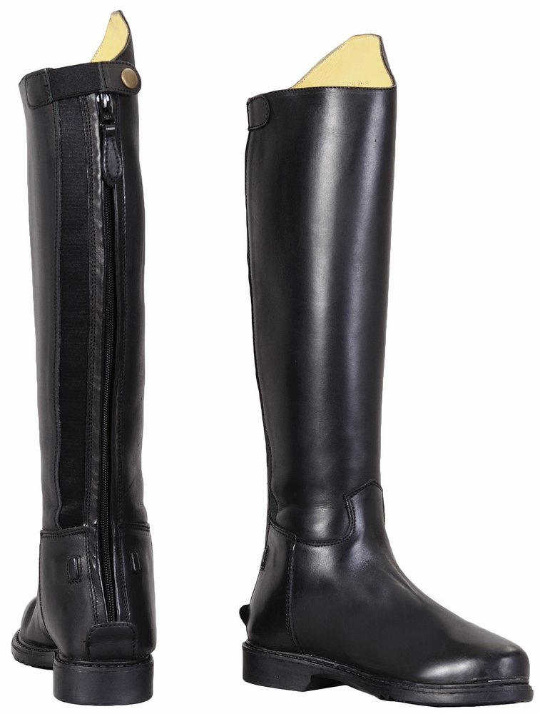 TuffRider Women's Baroque Dress Boots, Black, 65 Regular by TuffRider