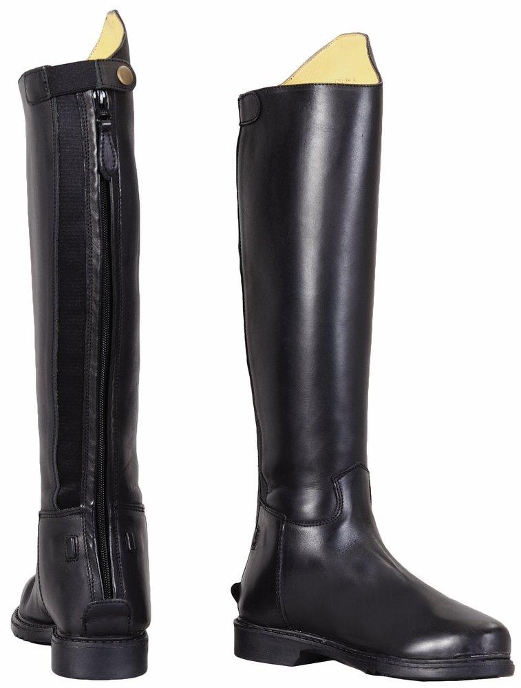 TuffRider Children's Baroque Dress Boots, Black, 12 Regular Wide