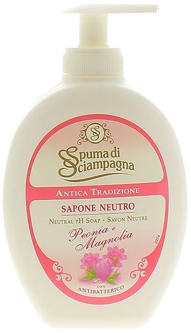 6 opinioni per Spuma di Sciampagna- Sapone Liquido Peonia & Magnolia, 250Ml