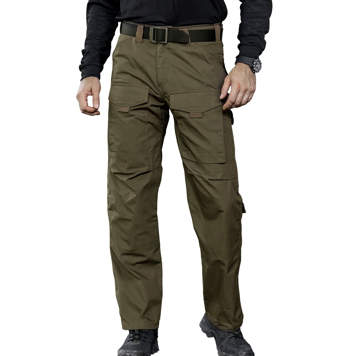 Men's Tactical Multi-Pocket Breathable Cargo Pants - DeluxeAdultCostumes.com