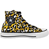949d615ed179 Converse Unisex-Adult Chuck Taylor All Star Animal Print Trainers