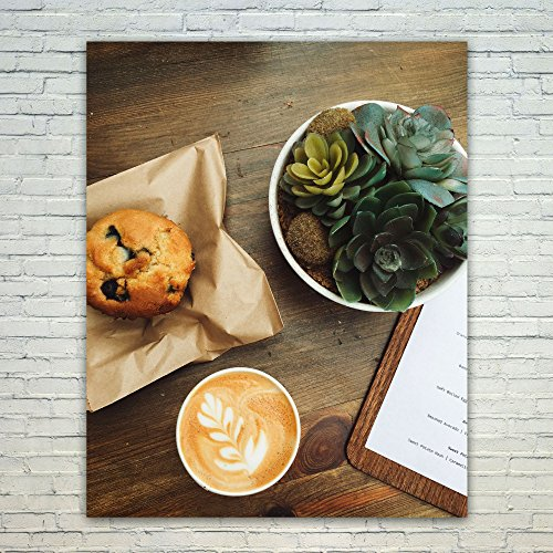 Westlake Art Poster Print Wall Art - Coffee Cafe - Modern Picture Photography Home Decor Office Birthday Gift - Unframed - 20x24in ()