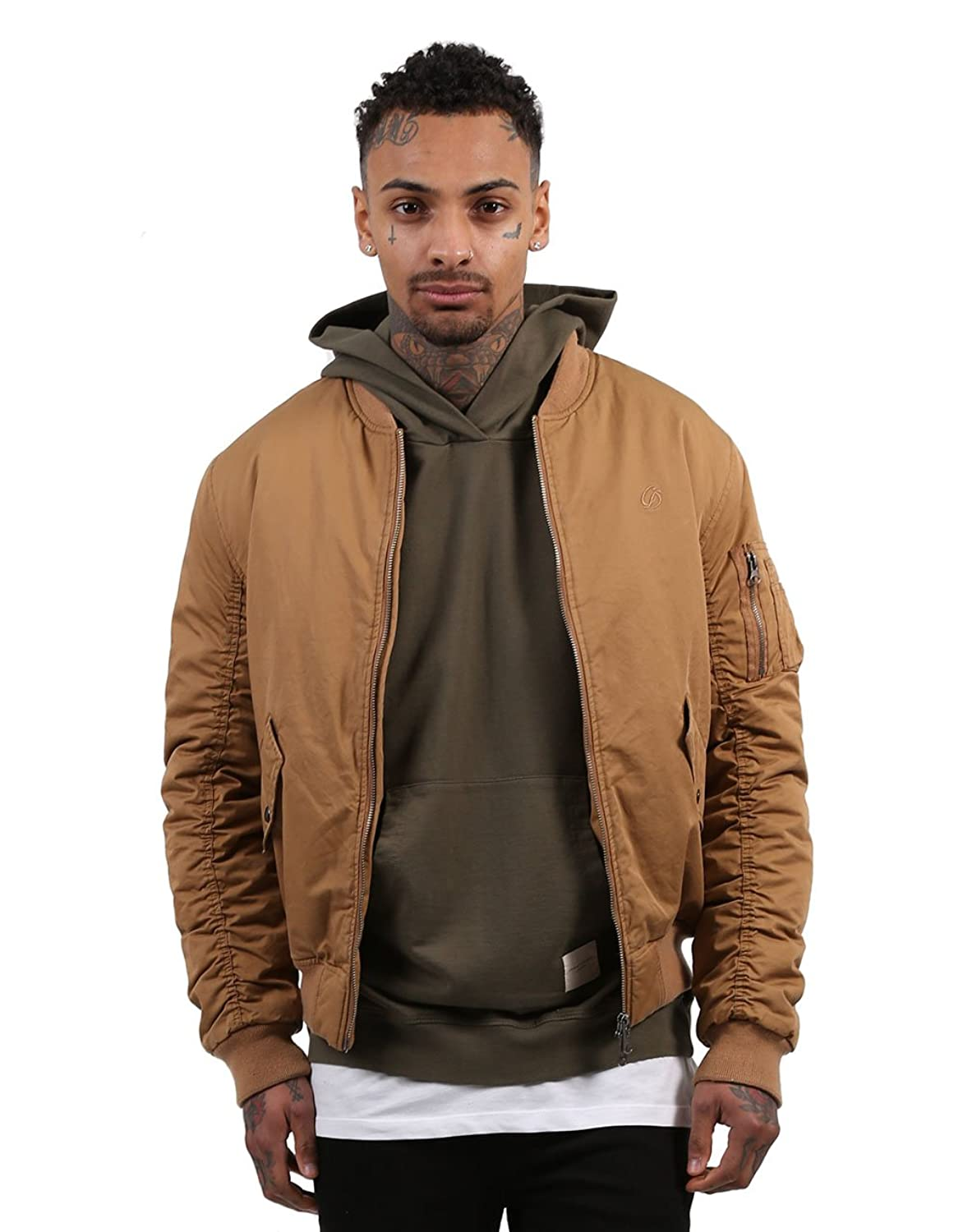 Criminal Damage Air Force Jacket Sand