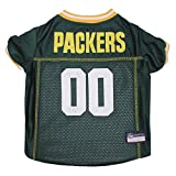 Pets First NFL Green Bay Packers Premium Pet Jersey, Small